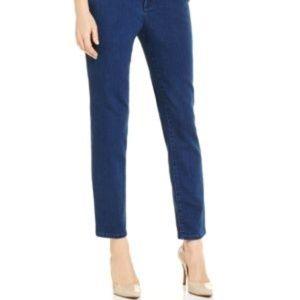 Petite Bristol Skinny Ankle Jeans 6P (OB3)